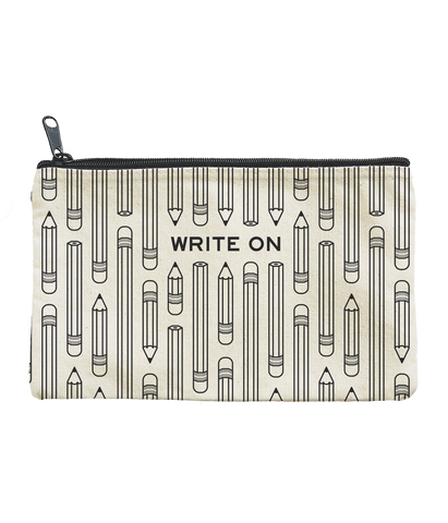 Write On Zippered Pouch