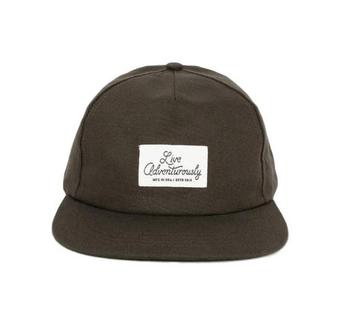 Live Adventurously 5-Panel Hat
