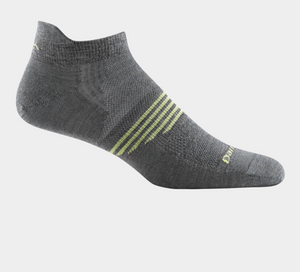 Men's Merino Wool Element No Show Sock - Gray