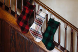 Stewart Plaid Red Stocking