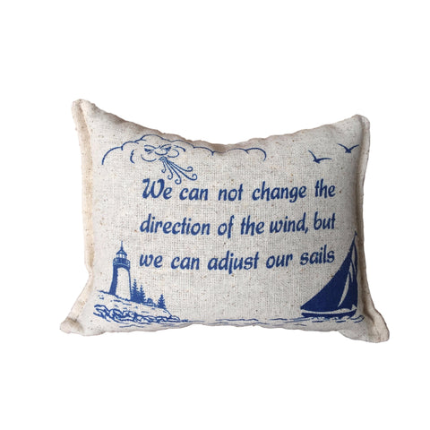 Adjust Our Sails Balsam Pillow