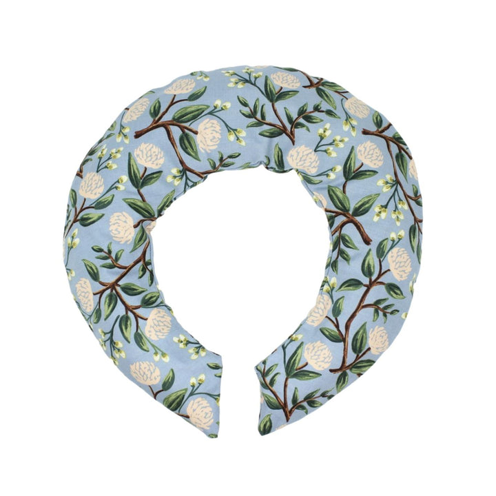 Lavender Scented Neck Wrap - Delft Blue Peony