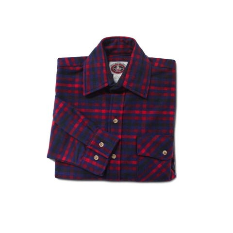 Boston Plaid Men's Flannel Shirt