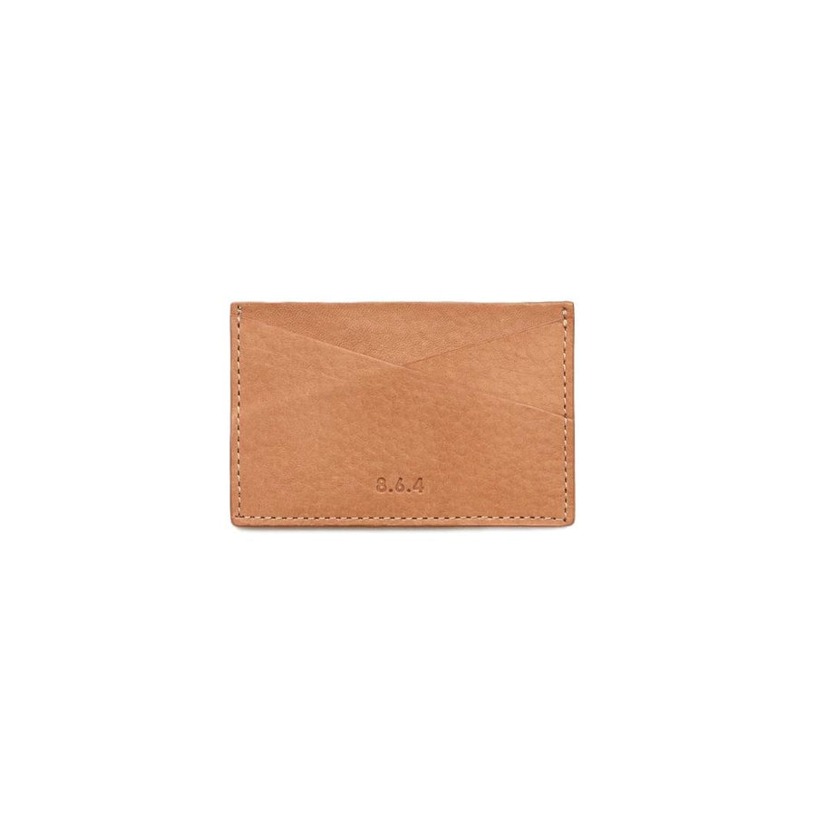 Leather Card Case - Tan