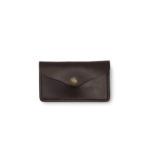 Filson Snap Closure Wallet in Brown