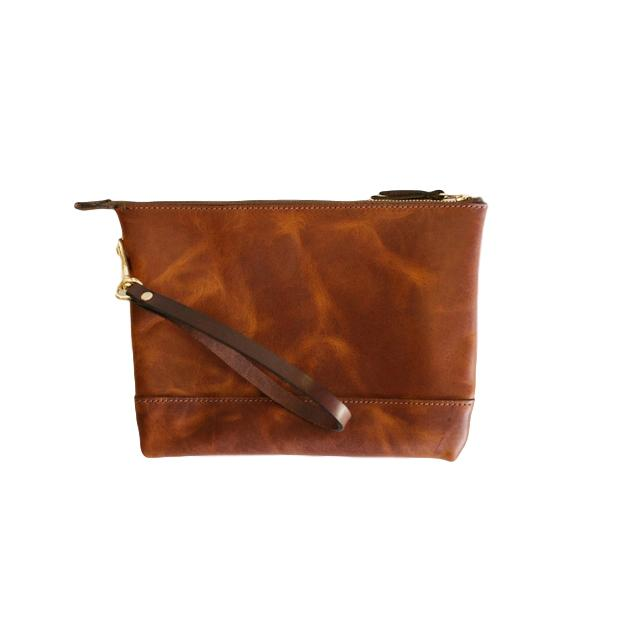 Horween Leather Dublin Clutch
