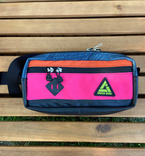 Bicycle Tube Hip Pack Pink
