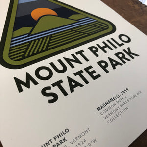 Vermont Parks Collection Print: Mount Philo State Park