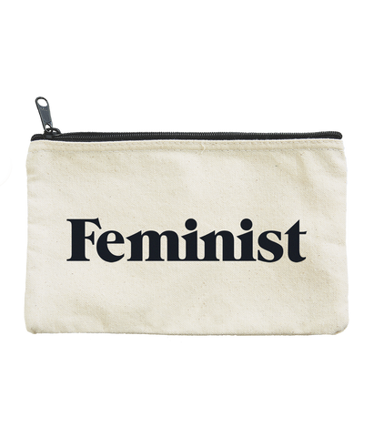 Feminist Zippered Pouch
