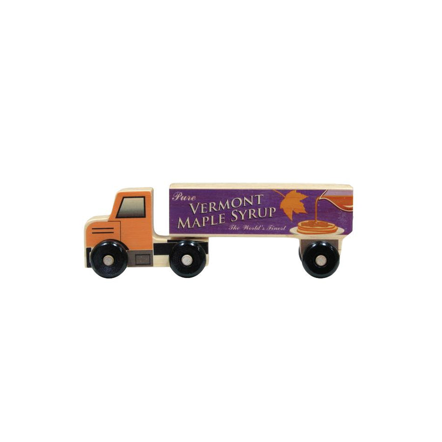 Vermont Maple Syrup Toy Semi Truck