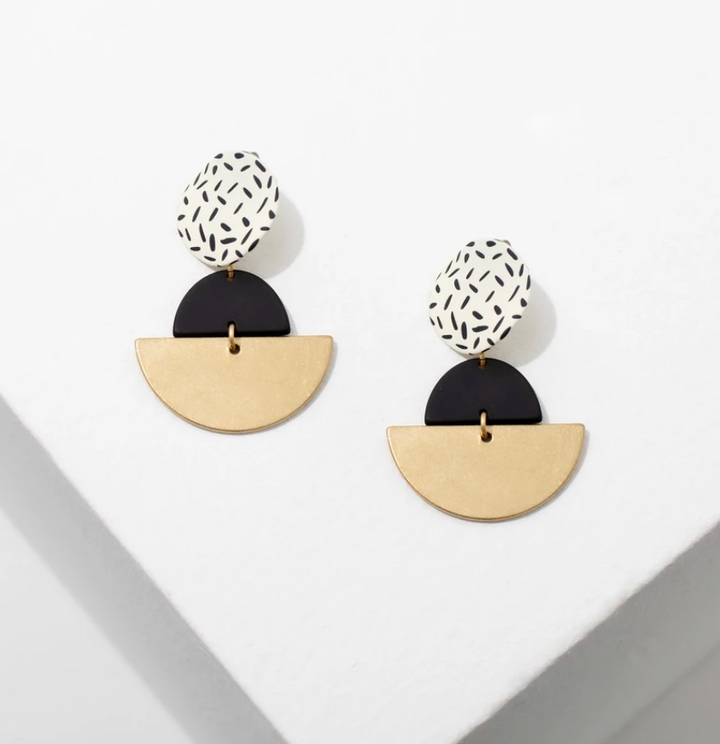 Kiki Earrings White