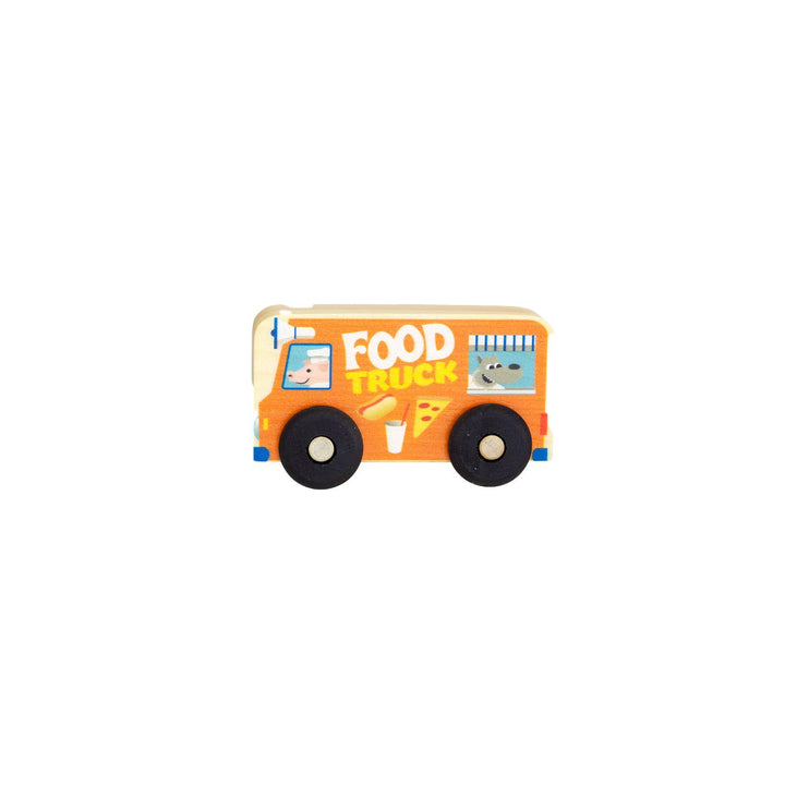 Wooden Food Truck Toy