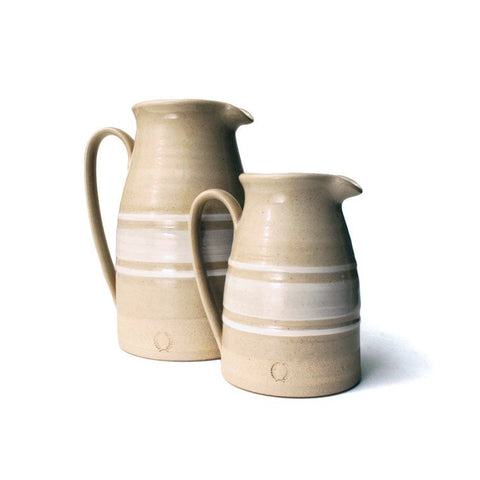 Yellowware Stoneware Pitcher