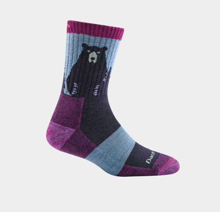 Women's Merino Wool Bear Town Socks