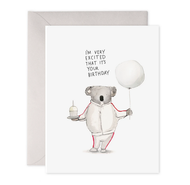 Koala Birthday Excitment Card - EF5