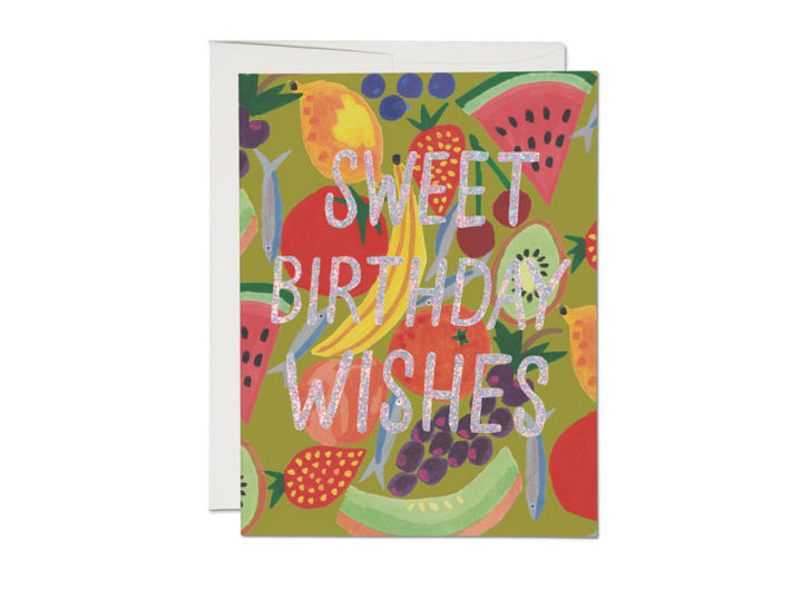 Fruity Birthday Sparkles Card - RC5