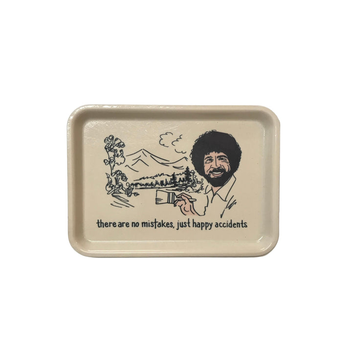 Bob Ross Trinket Tray