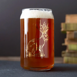 Beer Can Glass - Jackalope