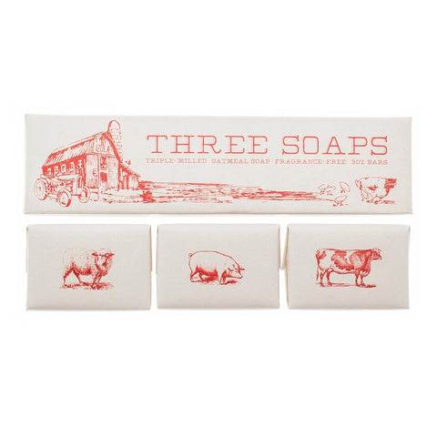 Izola Harvest Soap 3 Piece Set