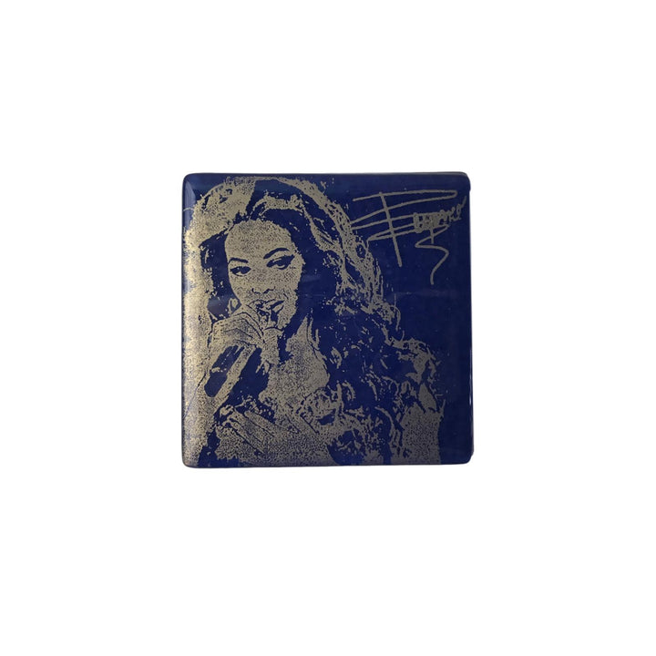 Beyonce Glass Coaster