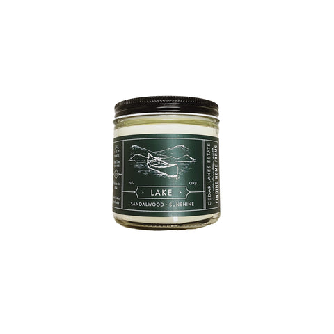 Lake Soy Candle - 13oz