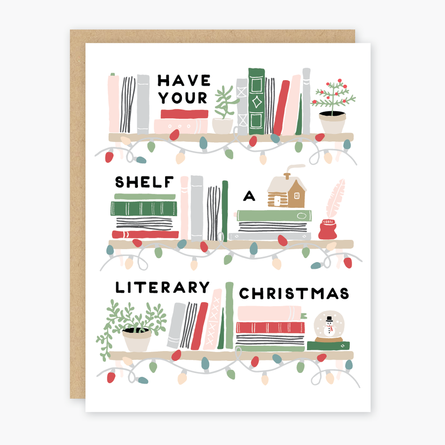 Literary Christmas Card - PO7