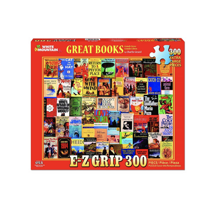 Great Books Puzzle - 300 Pieces