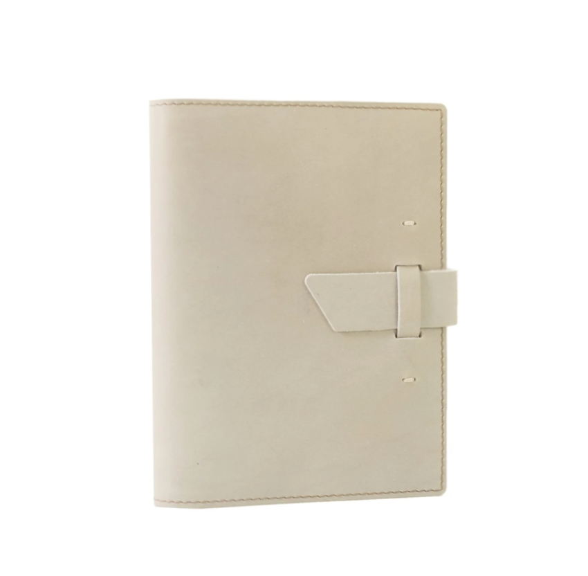 Switchback Leather Lined Notebook