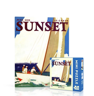 Day Sailing Mini 100 Piece Puzzle