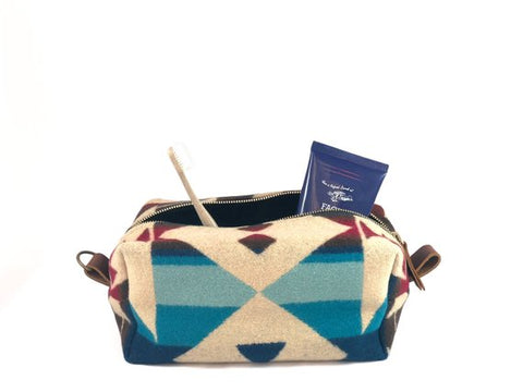 Pendleton Wool Small Handmade Dopp Kit