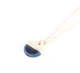 Porcelain Tiny Pebble Necklace