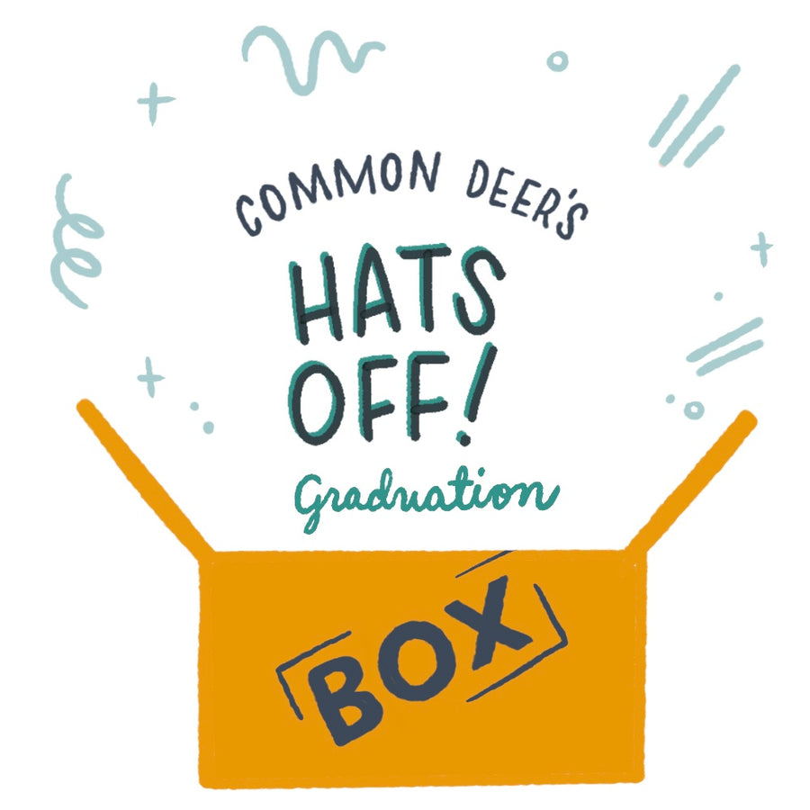 """Hat's Off"" Graduation Custom Gift Box"
