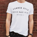 Common Deer T-Shirt in White