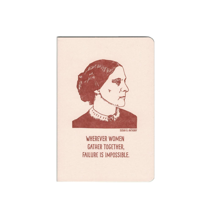 Inspiring Women Notebook - Susan B Anthony