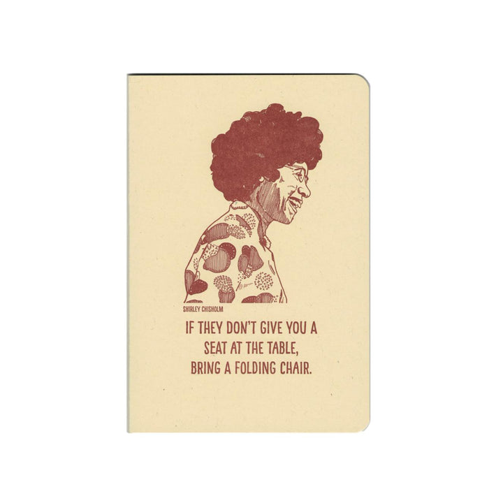 Inspiring Women Notebook - Shirley Chisholm