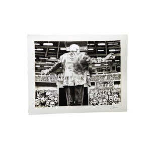 "This is Vermont Print Series II - ""Bernie"" 11 x 14"