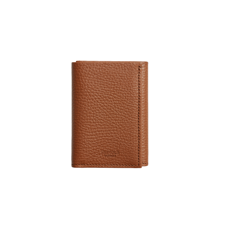 Slim Leather Trifold Wallet