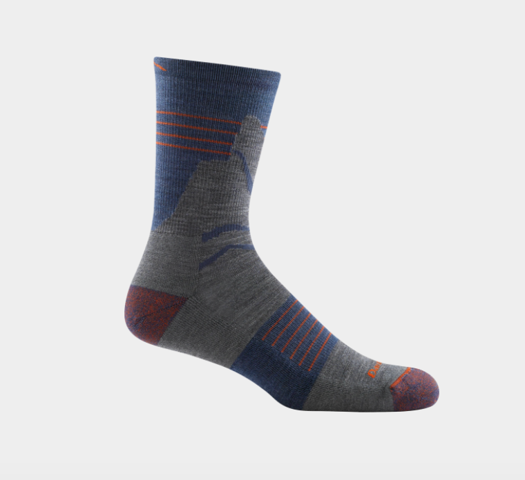 Men's Pinnacle Micro Crew Sock - Denim