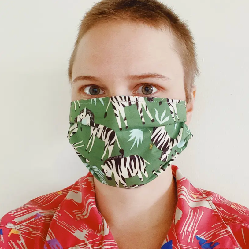 Vermont Made Adult Face Mask - Reversible Babysitter