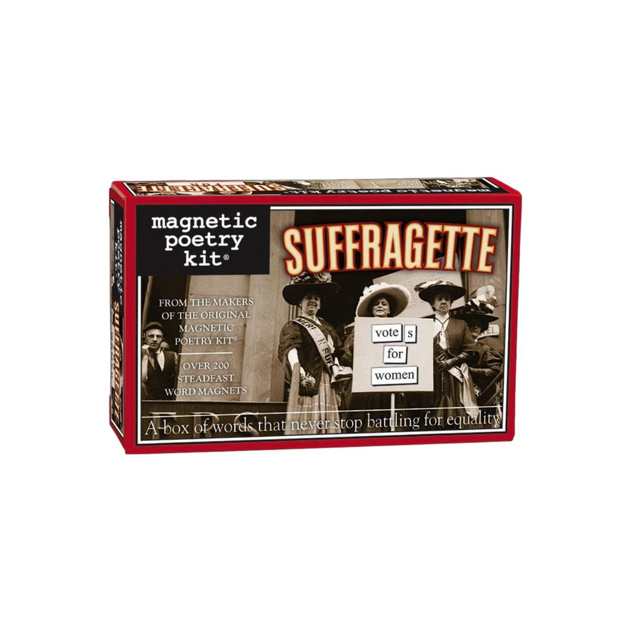 Magnetic Poetry Kit - Suffragette
