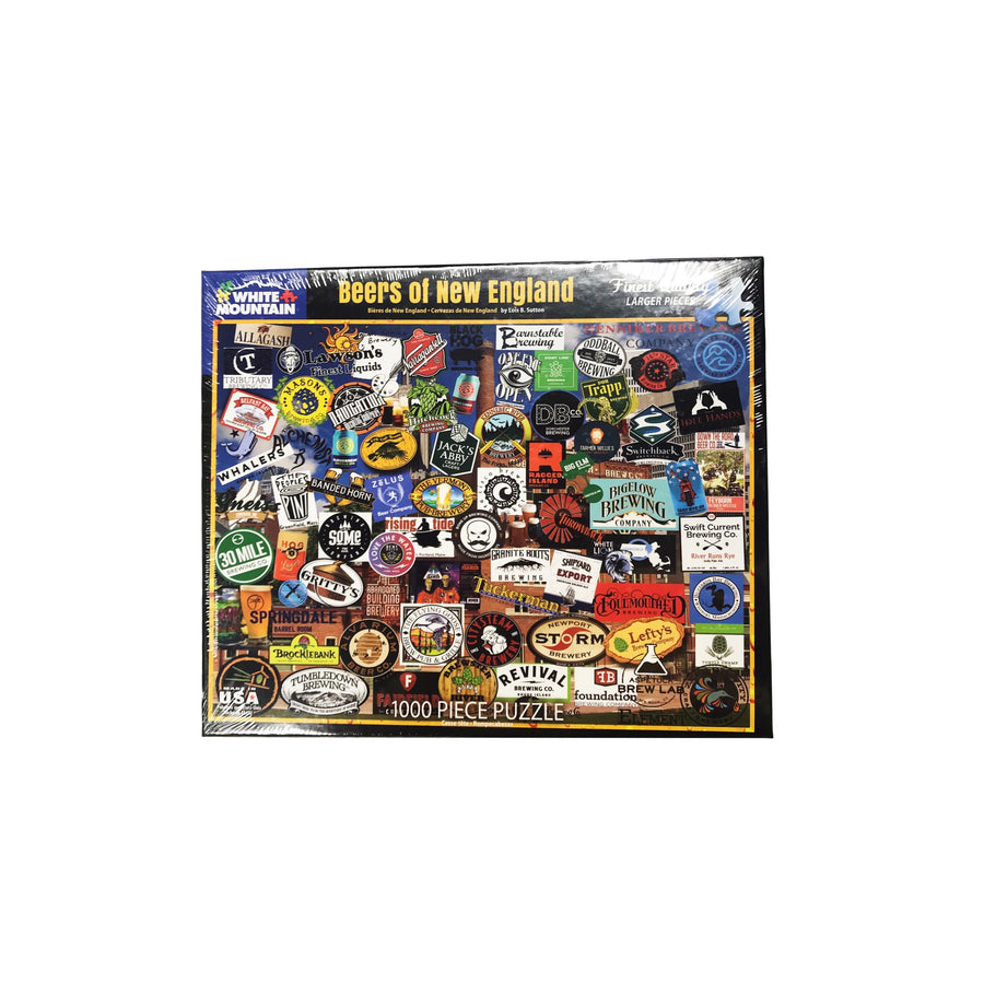 Beers of New England Puzzle - 1000 piece