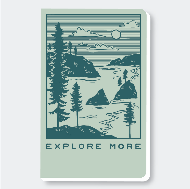 Explore More Notebook 8x5