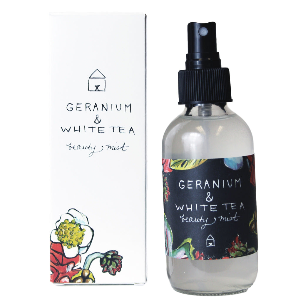 Geranium and White Tea Beauty Mist