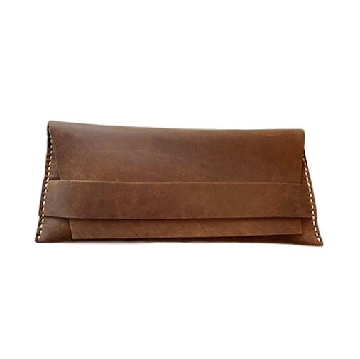 Plus or Minus Studio Leather Walnut