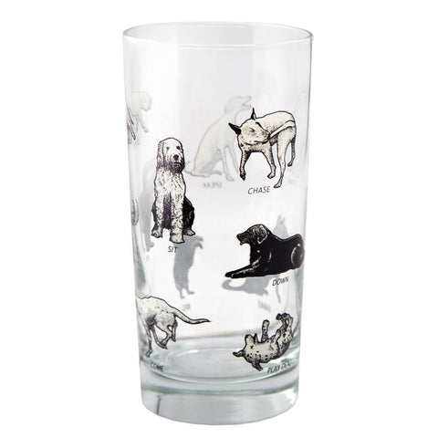 Many Dogs Glass
