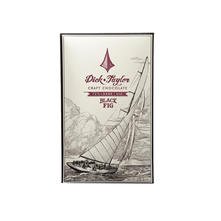 Craft Chocolate Bar - Black Fig Dark
