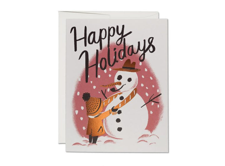 My Friend the Snowman Card - RC7