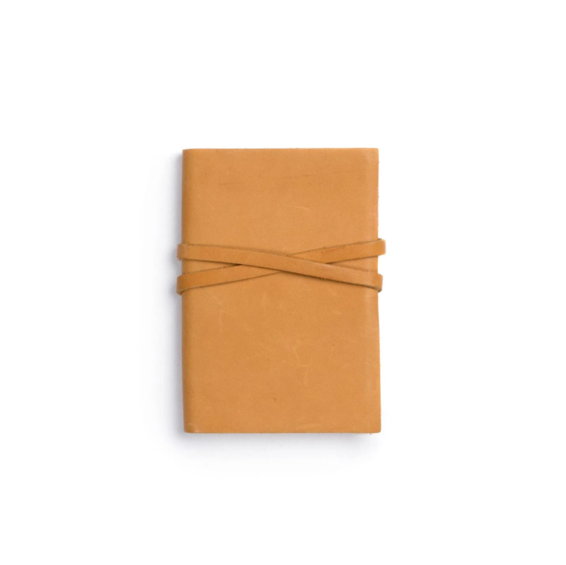 Trailhead Leather Blank Notebook