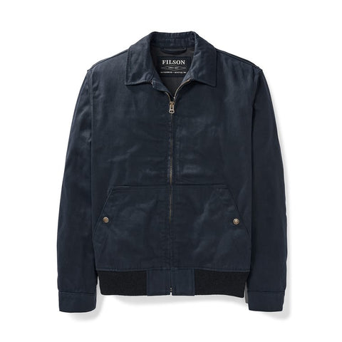 Filson Men's Dry Wax Work Jacket - Dusk Navy