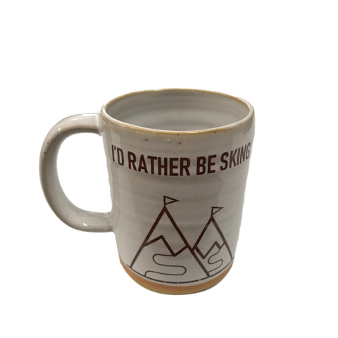 Rather Be Skiing Mug